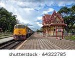 An Image Of The Hua Hin Train...