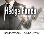 hedge funds is shown by... | Shutterstock . vector #643233949