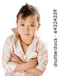 portrait of cute asian boy...   Shutterstock . vector #64324339