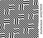 vector seamless pattern. modern ... | Shutterstock .eps vector #643278535