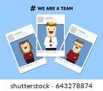 illustration vector cartoon... | Shutterstock .eps vector #643278874