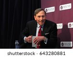 general david petraeus  the... | Shutterstock . vector #643280881
