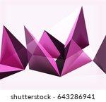 modern vector abstract...   Shutterstock .eps vector #643286941
