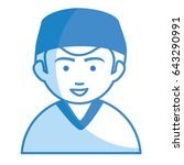 male surgeon avatar character | Shutterstock .eps vector #643290991