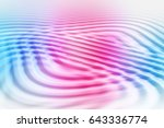 colorful ripple background | Shutterstock . vector #643336774