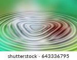 colorful ripple background | Shutterstock . vector #643336795