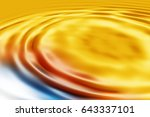 colorful ripple background | Shutterstock . vector #643337101