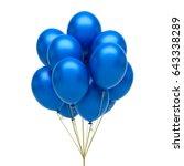 Blue Balloons.