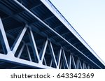bridge construction | Shutterstock . vector #643342369