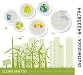 concept of environmental... | Shutterstock .eps vector #643358794