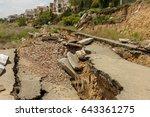 Landslide Caused By Torrential...