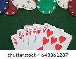 Winning Poker Hand And Casino...
