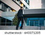 young  businessman go to work. | Shutterstock . vector #643371205