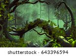 3d Illustration Of Forest...