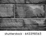 wall bricks  | Shutterstock . vector #643398565