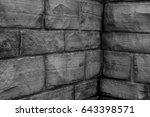 wall bricks  | Shutterstock . vector #643398571