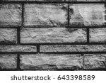 wall bricks  | Shutterstock . vector #643398589