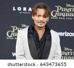 johnny depp at the u.s.... | Shutterstock . vector #643473655
