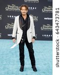 johnny depp at the u.s.... | Shutterstock . vector #643473781