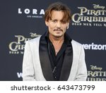 Johnny Depp At The U.s....