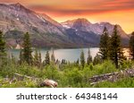 Glacier National Park In...