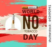 illustration of world no... | Shutterstock .eps vector #643490941