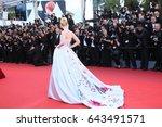 elle fanning attends the ... | Shutterstock . vector #643491571
