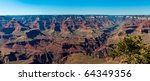 Panoramic View Of South Rim In...