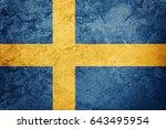 Grunge sweden flag. sweden flag ...