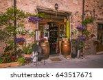 spello  italy   may 16  2017 ... | Shutterstock . vector #643517671