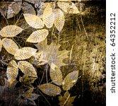 Art Graphic Autumn Leaves...