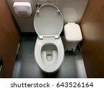public toilet | Shutterstock . vector #643526164