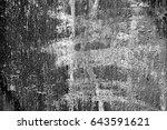 metal texture with scratches...   Shutterstock . vector #643591621