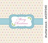 Polka Dot Background With...
