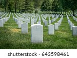 White Grave Sites At The...