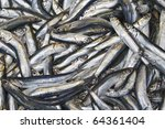 anchovy in the bazaar. a very... | Shutterstock . vector #64361404