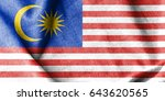 malaysia cotton flag   Shutterstock . vector #643620565