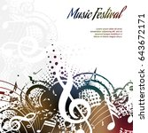 Music Background Abstract...