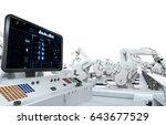 3d rendering control panel...   Shutterstock . vector #643677529