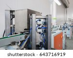 press form the machine produces ... | Shutterstock . vector #643716919