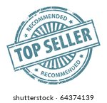 grunge rubber stamp  with the... | Shutterstock .eps vector #64374139