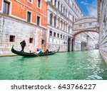 Traditional Gondola And The...