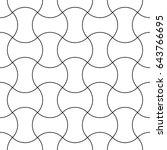 apple core quilts texture.... | Shutterstock .eps vector #643766695
