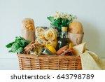 italian products. italian... | Shutterstock . vector #643798789
