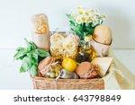 italian products. italian... | Shutterstock . vector #643798849