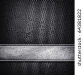 metal template background | Shutterstock . vector #64381822