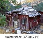 Abandoned And Rundown One Room...