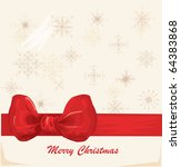 vector christmas background | Shutterstock .eps vector #64383868