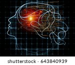 mind tangents series.... | Shutterstock . vector #643840939