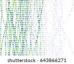 vector graphic. colored... | Shutterstock .eps vector #643866271